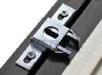 Anti-Theft for Wooden Picture Frames: SpringLock Fixings (1 x pair)